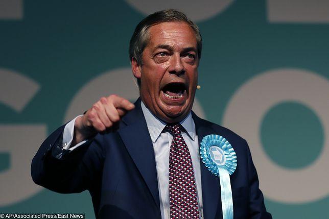 Wybory do Parlamentu Europejskiego 2019. Partia Nigela Faraga prowadzi w sondażu przedwyborczym