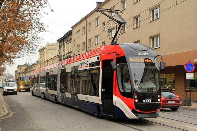 W Krakowie odbył się test autonomicznego tramwaju