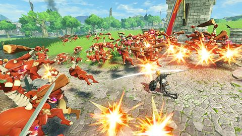 Hyrule Warriors: Age of Calamity wielkim hitem