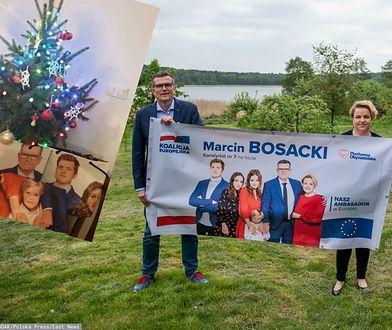 """Boże Narodzenie 2019. Marcin Bosacki pokazał choinkę i """"wyborcze"""" prezenty"""