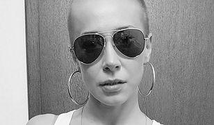 """Katarzyna Warnke zachwyca ogoloną głową. """"Pozdrowienia dla wszystkich łysych kobiet"""""""