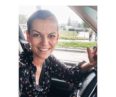 Alżbeta Lenska poinformowała swoich fanów, że ponownie usiadła za kierownicą