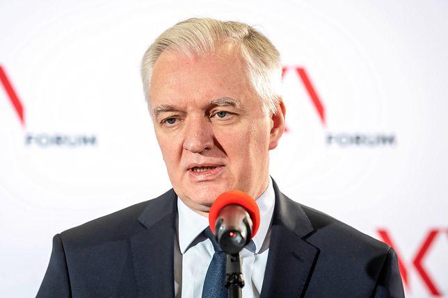 """Jarosław Gowin skomentował propozycje programowe PiS nazywane potocznie """"Piątką Kaczyńskiego"""""""