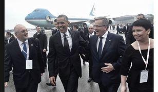 Barack Obama w Warszawie