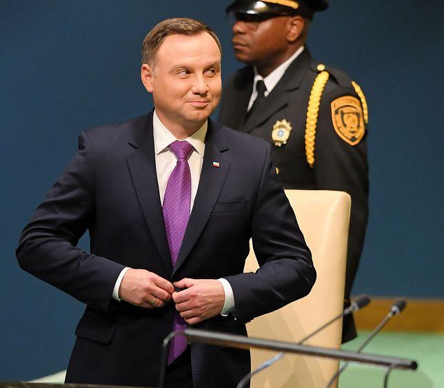 Prezydent Andrzej Duda uczestniczył w 73. sesji Zgromadzenia Ogólnego ONZ w Nowym Jorku