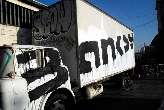 Banksy dba o swoją anonimowość