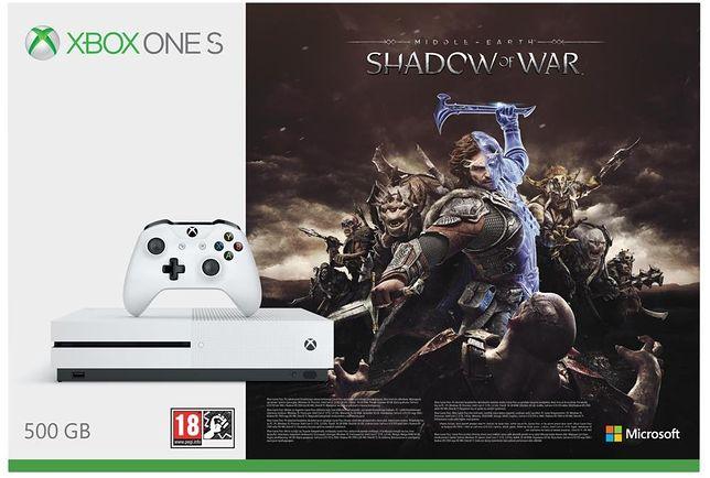 Black Friday 2017 - Xbox One S z grą i darmową wysyłką za mniej niż 780 zł w Amazonie!