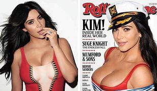 """Kim Kardashian na okładce """"Rolling Stone"""""""