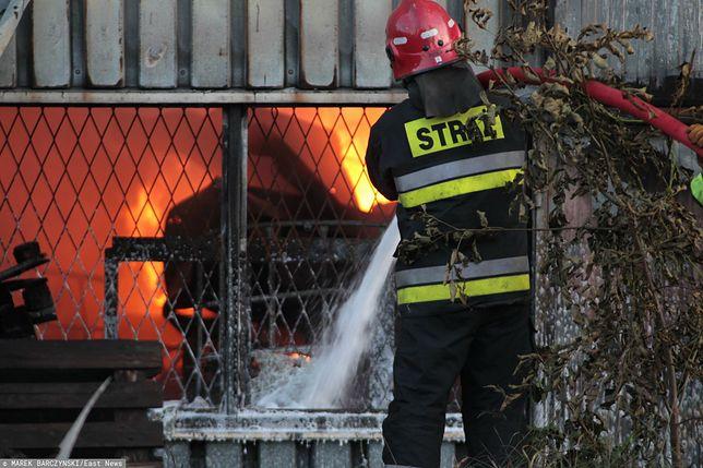 Śląskie. W pożarze domku letniskowego w Myszkowie spłonęli dwaj biznesmeni? / foto ilustracyjne