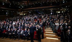 Powitanie Andrzeja Rzeplińskiego podczas uroczystej inauguracji XII Krajowego Zjazdu Adwokatury