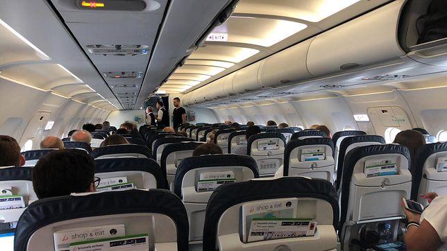 Pasażerowie odwołanego lotu z Warszawy do Brukseli