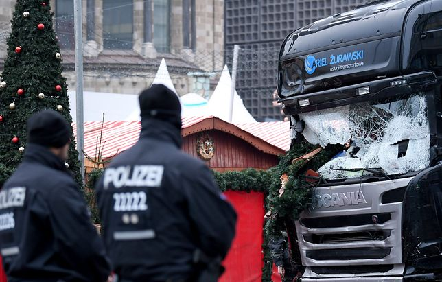 Ciężarówka, której użyto w zamachu, została zezłomowana