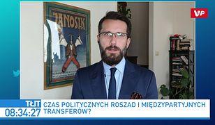 Będą transfery polityków w Zjednoczonej Prawicy? Radosław Fogiel: nie słyszałem