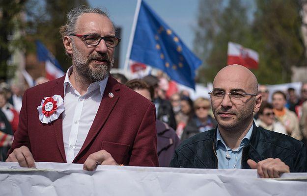 Mateusz Kijowski i Radomir Szumełda