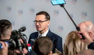 Premier Mateusz Morawiecki po raz kolejny angażuje się w spór historyczny