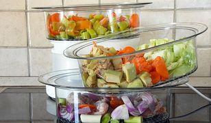 Gorąca para pomaga przygotować zdrowsze posiłki