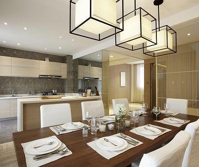 Lampa wisząca skutecznie podkreśli elegancki wystrój salonu lub jadalni