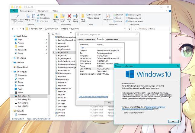 Oto potęga zgodności. Silnik przeglądarki dostępnej przez trzy lata zostanie z nami jeszcze na długo. Model sterownika Windows 2000 czekał 9 lat na usunięcie. A synchronizacja ustawień? Zobaczymy.