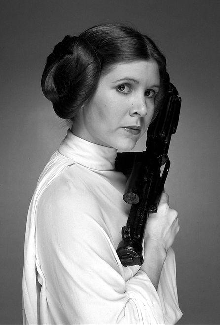 """Zobacz Carrie Fisher na przesłuchaniu do """"Gwiezdnych wojen"""""""