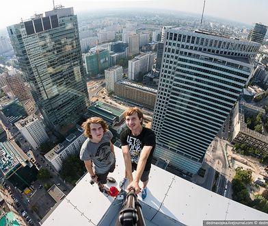 Rosjanie na warszawskich dachach [ZDJĘCIA]