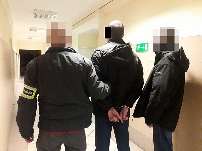 Warszawa. Napastnik został zatrzymany przez policjantów