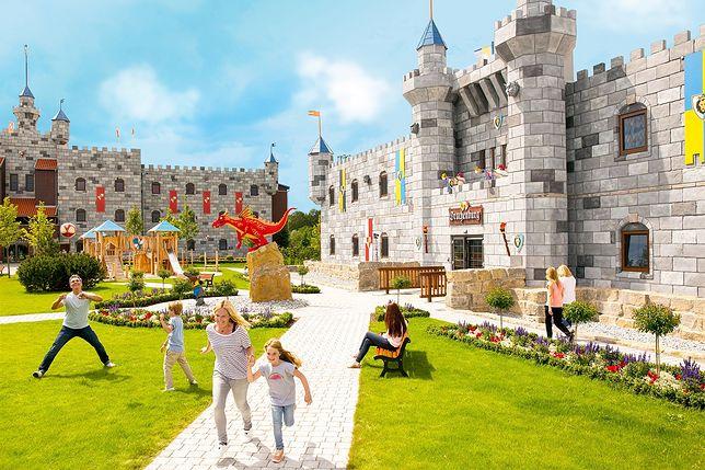 Hotelowy zamek LEGO. Nowa atrakcja w duńskim miasteczku Billund już wkrótce