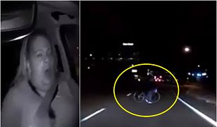 Kobieta wyłoniła się zaledwie kilka metrów przed samochodem