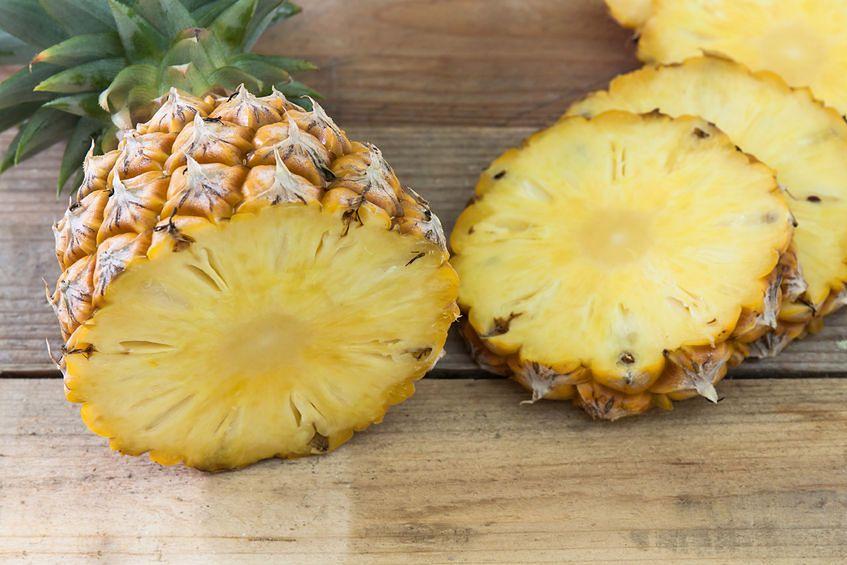 Ananas na stawy i kości
