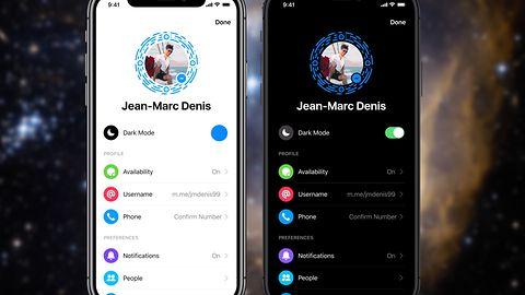 Facebook Messenger – ciemny motyw. Jak aktywować?