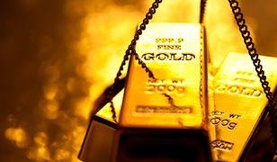 Złoto traci blask. Fed zbił cenę do najniższego poziomu od 10 miesięcy