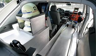 Najszybsza karetka na świecie - Porsche Cayenne S