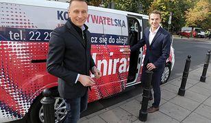 Wybory parlamentarne 2019. Krzysztof Brejza z PO i Adam Szłapka z Nowoczesnej