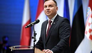 Andrzej Duda podkreślił, że sędziowie przechodzą w stan spoczynku na mocy przepisów ustawy