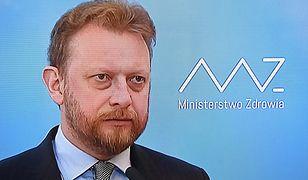 Koronawirus w Polsce. Minister zdrowia Łukasz Szumowski