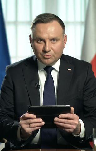 Koronawirus w Polsce. Andrzej Duda odpowiadał na pytania internautów.