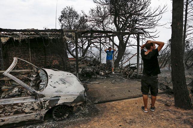 W greckich pożarach zginęło 87 osób