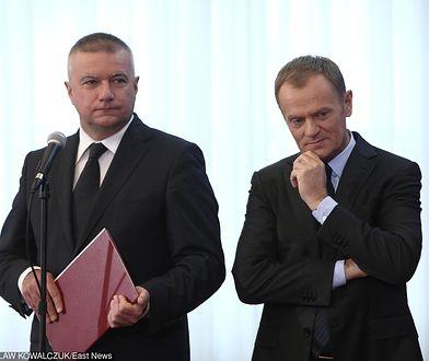 """Tusk składa kondolencje Grasiowi. """"Trzymaj się, przyjacielu"""""""