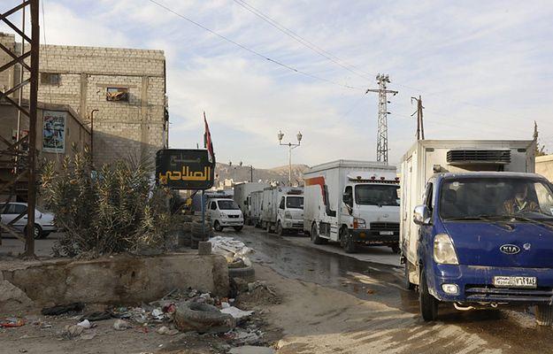 Turecka armia ostrzelała teren Syrii