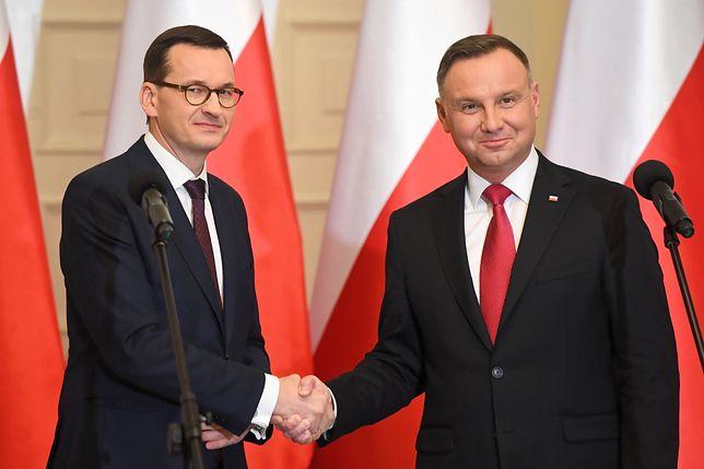 Polacy ocenili prezydenta i premiera. Nowy sondaż