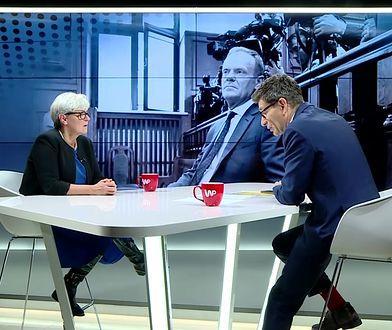 Andrzej Duda dla WP ostro o Tusku. Joanna Kluzik-Rostkowska ripostuje