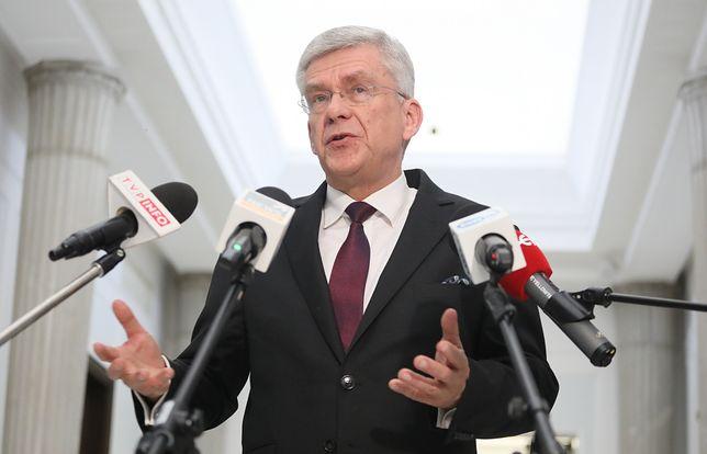 """Wybory prezydenckie 2020. Stanisław Karczewski do Borysa Budki: """"Niech pan spuści z tonu"""""""