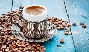 Kawa po turecku. Pyszna porcja kofeiny
