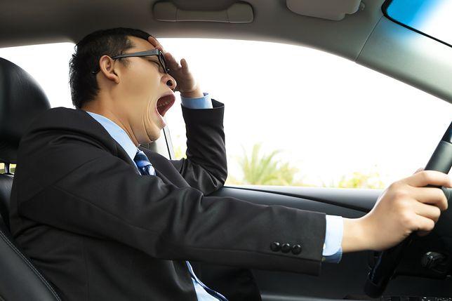 Zasypiający kierowcy to spory problem w Polsce.