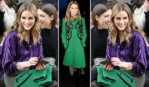 LOOK OF THE DAY: Olivia Palermo w płaszczu Elie Saab