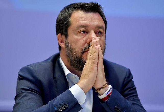 Matteo Salvini nie zdołał namówić PiS do współpracy