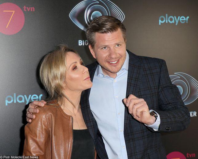Filip Chajzer i Małgorzata Ohme