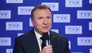 Ofertę konkursową na prezesa TVP Jacek Kurski składał ze specjalna asystą