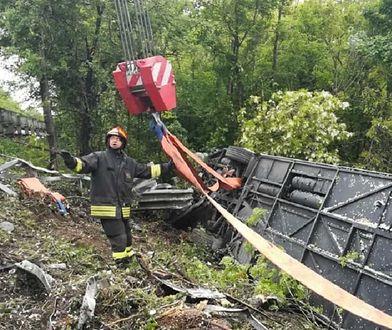 Rosyjska ambasada informuje o skutkach wypadku.