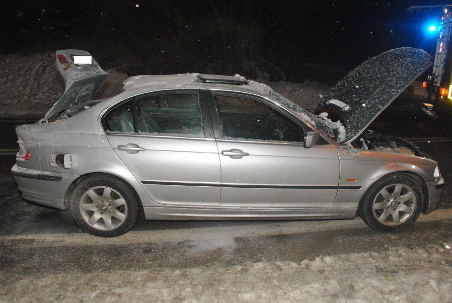Wybuch po zatankowaniu LPG. Kierowca zapomniał, że wcześniej wymontował butlę