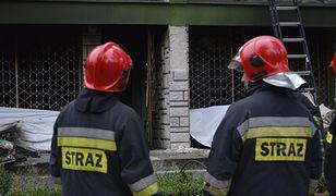 Warszawa. Odłamany konar spadł na kobietę